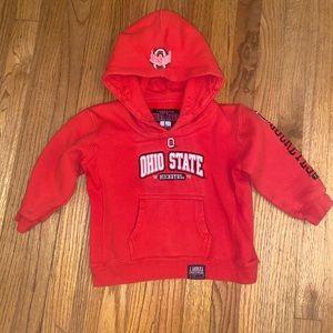Ohio state child's hoodie